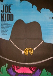 Polish Movie Poster Joe Kidd Clint Eastwood