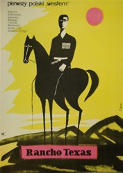 Polish Movie Poster Rancho Texas