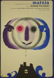 Polish Movie Poster Cul de Sac