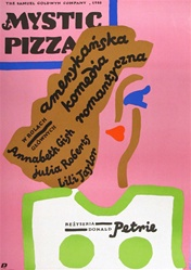 Polish Movie Poster Mystic Pizza