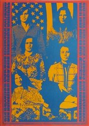 Big Brother And The Holding Company Original Concert Poster Original Concert Poster