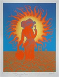 Summer Of Love Original Signed Silkscreen