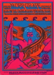 Moby Grape And The Charlatans Original Concert Postcard