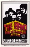 The Band And Sons Of Champlin Original Concert Postcard