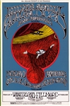 Jefferson Airplane And Grateful Dead Original Concert Postcard
