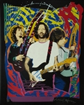 Jimmy Page And Eric Clapton And Jeff Beck Limited Edition Silkscreen