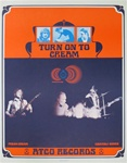 Cream Original Atco Records Poster