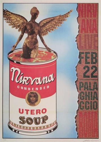 Nirvana Original Concert Poster