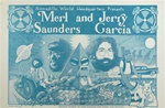 Merl Saunders and Jerry Garcia Original Concert Poster