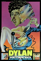 Bob Dylan Don't Look Back Original Poster