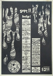 Benefit For The Both And Jazz Club Original Concert Poster