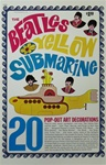 Beatles Popout Yellow Submarine Decoration Booklet