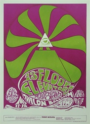 13th Floor Elevators And Moby Grape Original Concert Poster