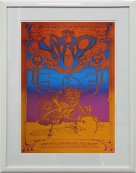 The Who At Hollywood Palladium Original Rock Concert Poster