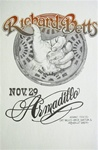 Richard Betts Original Concert Poster