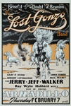 Jerry Jeff Walker Original Concert Poster