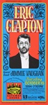 Eric Clapton With Special Guest Jimmie Vaughan Original Concert Poster