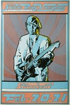 Stevie Ray Vaughan Original Concert Poster