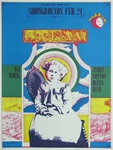 Cream At The Earl Warren Showgrounds Original Concert Poster