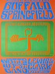 Buffalo Springfield At The Earl Warren Showgrounds Original Concert Poster
