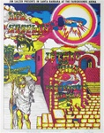 Led Zeppelin and Jethro Tull At The Earl Warren Showgrounds Original Concert Poster