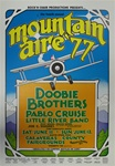 Doobie Brothers At Mountain Aire 1977 Original Concert Poster