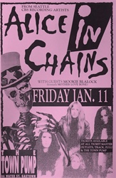 Alice in Chains Original Concert Poster/Flyer