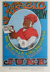 Magic Show Original Concert Poster
