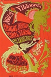 Pink Floyd and H.P. Lovecraft and Procol Harum Original Concert Postcard