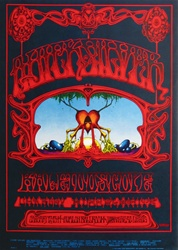 Quicksilver Messenger Service and Kaleidocope Original Concert Poster