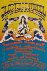Electric On the Eel with Jerry Garcia Band Original Concert Poster