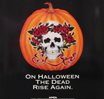 Grateful Dead Halloween Original Promotional Poster