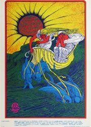 Canned Heat and Siegel Schwall Original Concert Postcard