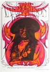 Van Morrison and The Daily Flash Original Concert Postcard