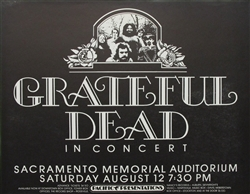 Grateful Dead Original Concert Poster