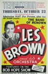 Les Brown And His Orchestra Original Concert Poster