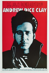Andrew Dice Clay Original Concert Poster