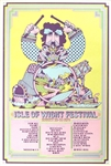 Isle Of Wight Festival Original Concert Poster