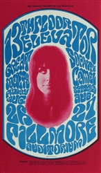 13th Floor Elevators And Great Society Original Postcard