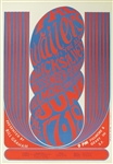 The Wailers And Quicksilver Messenger Service Original Concert Poster