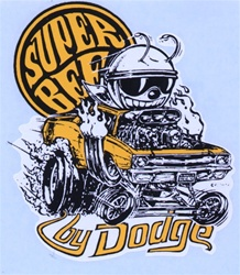 Ed Big Daddy Roth Original Vintage Water slide Decal