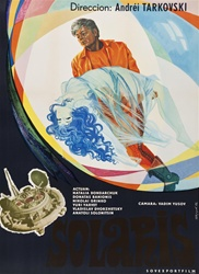 Solaris Original Russian Movie Poster