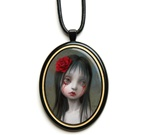 Mark Ryden Official Rose Pendant