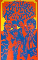 Saladin Paul Revere and the Raiders Original Rock Poster
