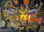 Todd Schorr Sci Fi Suite Limited Edition Lithographs