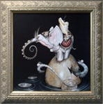 Greg Simkins Wishing Welephant Original Painting