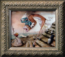 Greg Simkins The Leaving Original Painting