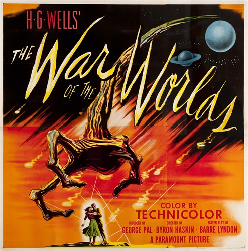 war of the worlds original us six sheet vintage movie poster