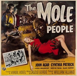 The Mole People Original US Six Sheet