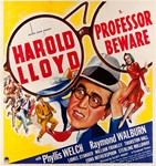 Professor Beware Original US Six Sheet